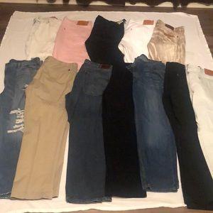 Levi's, Akoo and Polo Jeans
